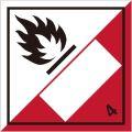 等級4.2 自然発火性物質 標識(コンテナ・国連番号表示用)