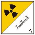 等級7 放射性物質 標識(コンテナ用)