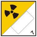 等級7 放射性物質 標識(コンテナ・国連番号表示用)