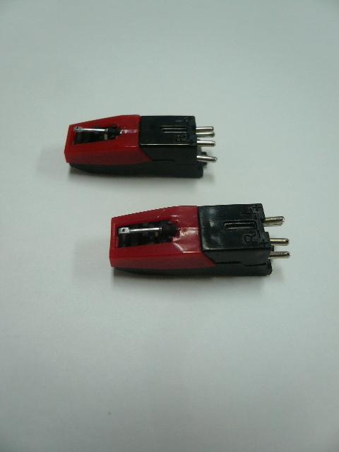 交換用レコード針 2個セット 【レコード・カセット・CD再生機能付 CDレコーダー SK-CDR1専用】