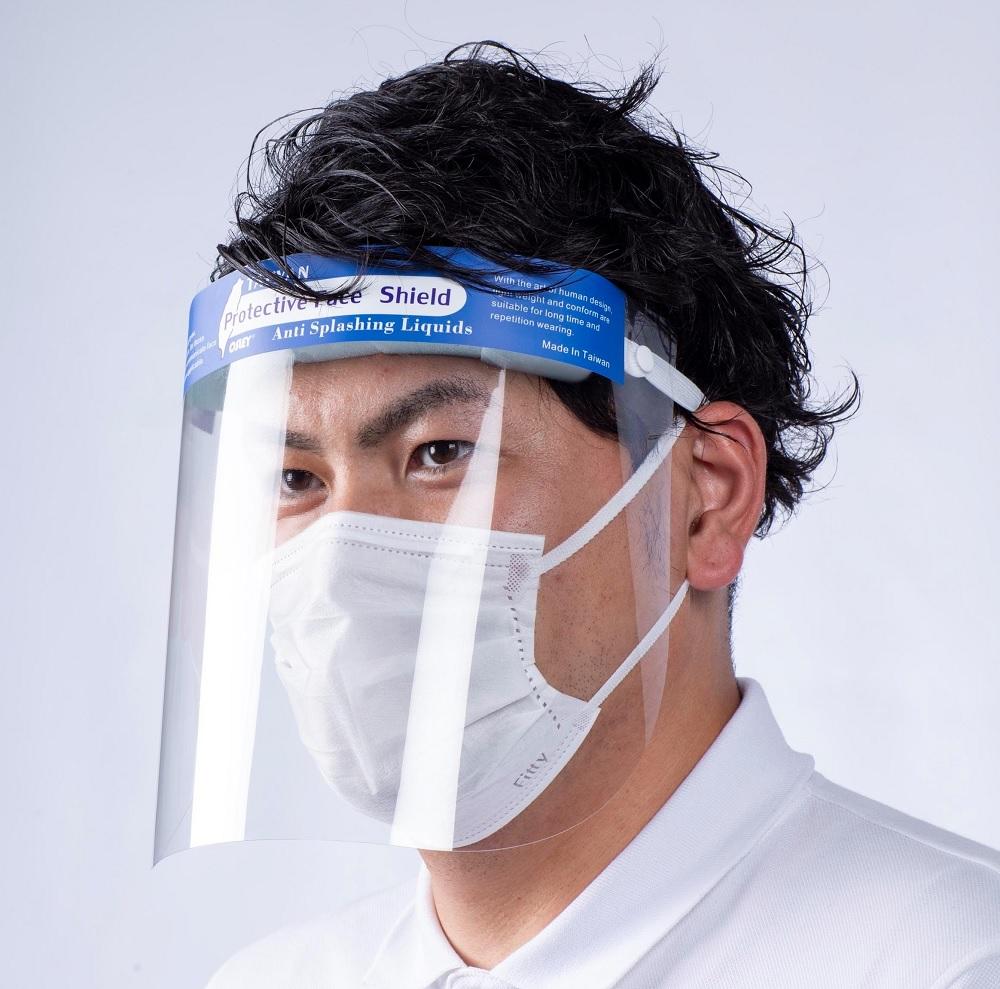 フェイスガード 保護フィルム 防塵・飛沫対策 10枚