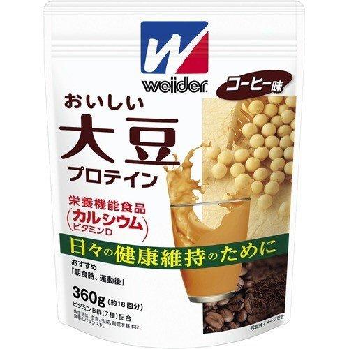 WD大豆プロテイン コーヒー 360G