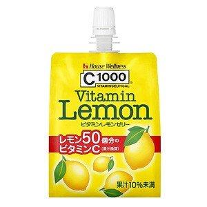 C1000ビタミンレモンゼリー 180G