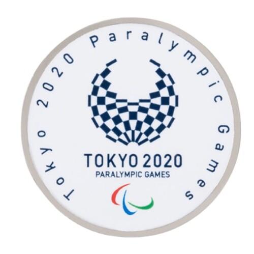 【アウトレット】パラリンピック ラウンドピンバッジ