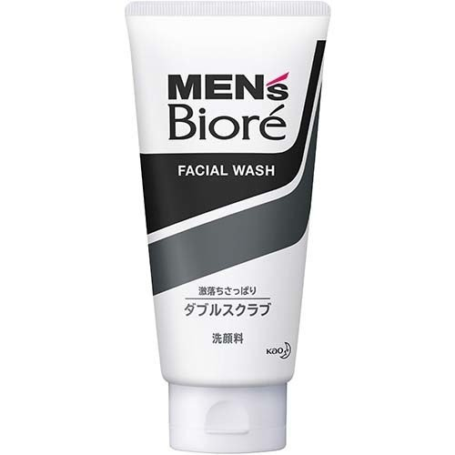 【アウトレット】花王 メンズビオレ ダブルスクラブ洗顔 130g