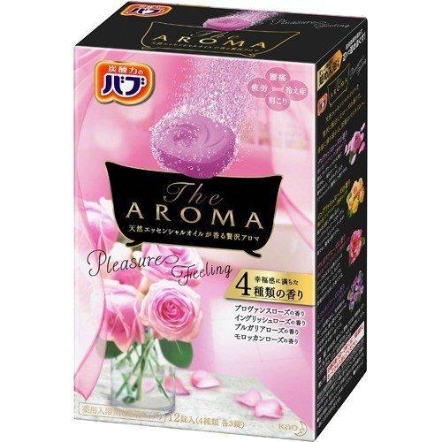 【アウトレット】花王 バブ The Aroma プレジャー 40g×12錠 (入浴剤)