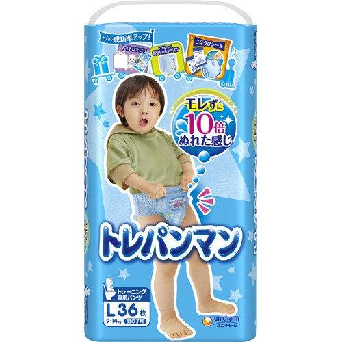 【送料無料】トレパンマン 男の子用 L 36P×4個入(1ケース)