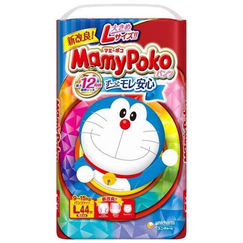 【送料無料】マミーポコパンツ L 44枚ドラえもん×4個入(1ケース)