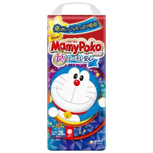 【送料無料】マミーポコパンツ ビッグ大 26枚ドラえもん×3個入(1ケース)