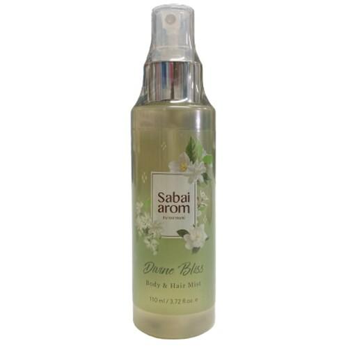 サバイアロム(Sabai-arom) ディバイン ブリス ボディ&ヘアミスト 110mL (ジャスミンの香り)