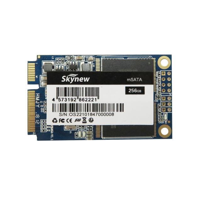 【送料無料】 skynew ミニパソコンとノートPC用 mSATA SSD 256GB (30mm X 50mm) mSATAIII 6Gb/s ミニハードディスク 1枚 新品