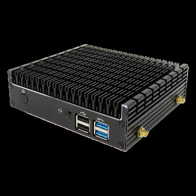 【送料無料】skynew 小型パソコン ファンレス 静音ミニPC Intel i3-8145U/8GB/128GB 品番S3 1台