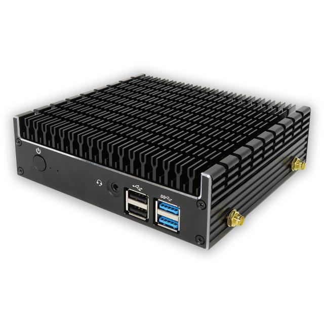 【送料無料】skynew 小型パソコン ファンレス 静音ミニPC Intel celeron 4205U/8GB/128GB   品番K4  1台