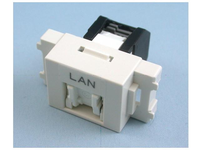 八光電機製作所 LANコンセント ユニット CAT5e対応 LWU-NT-5e