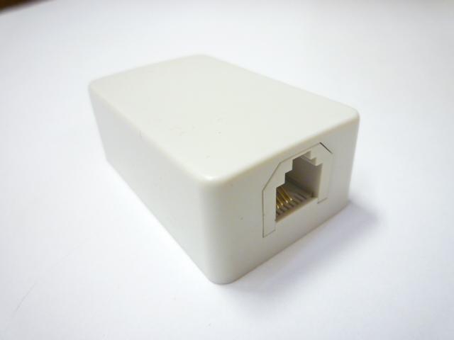 スカイニー ≪6極2,4芯兼用≫ モジュラーローゼット(コンパクトタイプ) MJ-4S-4C