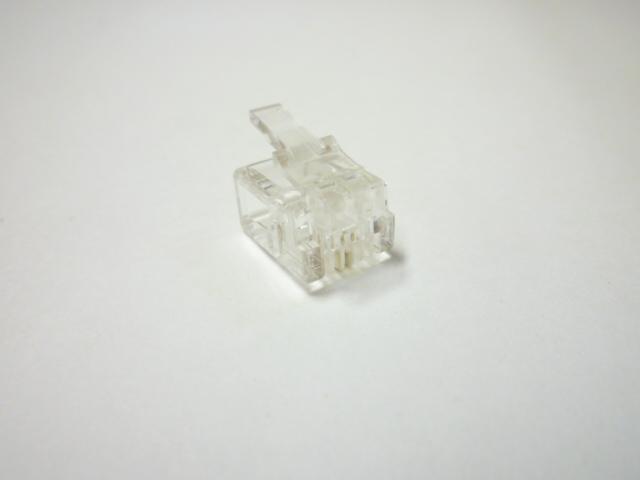 スカイニー ≪6極2芯≫ モジュラープラグ 【 1,000個入 】 MP-2C