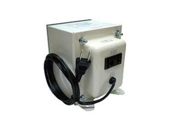 アップトランス/出力容量1000W/230V(220V,240V)の海外電化製品を日本で使用するためのトランス NDF-1000UPE