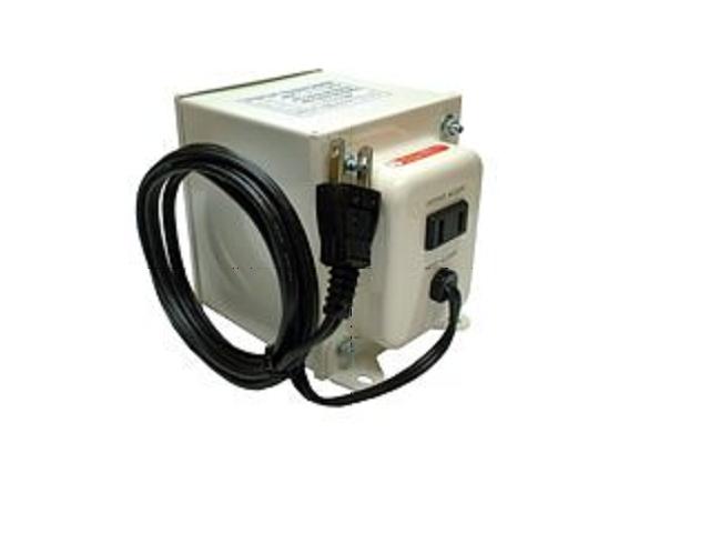 アップトランス/出力容量1000W/120V(110V,127V)の海外電化製品を日本で使用するためのトランス NDF-1000UPU