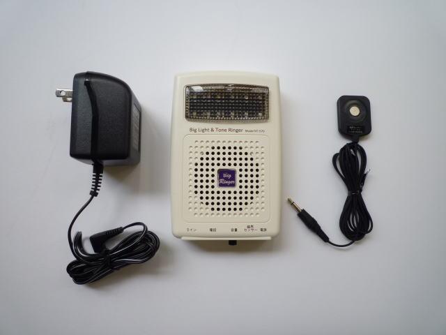 【着信表示&報知】 ナカ電子 ビックライト&トーンリンガー NT-570SET 6極4芯ビジネス電話にも