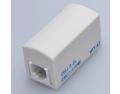 八光電機製作所 ≪6極2芯≫ EMCノイズフィルタ内蔵(CB・アマチュア無線等) モジュラー中継コネクタ DMJ6-2・100K