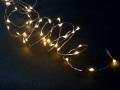 【送料無料※メール便選択時】 コロナ産業 室内用 LED ジュエリーライト (電池式) ≪ 40球 ≫ シルバーコード
