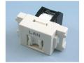 八光電機製作所 LANコンセント ユニット CAT6対応 LWU-NT-6