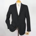 メンズジャケット(既製品) 日本製 毛混冬素材ニット 黒 サイズ違いによる返品無料【P21PLJ239】