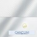 メンズパターンオーダーシャツ イタリア製 CANCLINI ホワイトカルゼ 【S71EXM207】