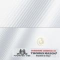 メンズパターンオーダーシャツ イタリア製 THOMASMASON ホワイトカルゼ 【S71EXM400】
