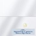 メンズパターンオーダーシャツ イタリア製 MONTI ホワイトヘリンボーン 【S71EXM609】