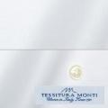 メンズパターンオーダーシャツ イタリア製 MONTI ホワイト無地 【S71EXM624】