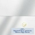 メンズパターンオーダーシャツ イタリア製 MONTI ホワイトツイル 【S71EXMM02】