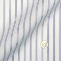 メンズパターンオーダーシャツ 形態安定 パープルストライプ 【S71SKBJ01】