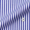 メンズパターンオーダーシャツ 綿100% ブルーロンスト 80番双糸 【S71SKF009】