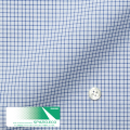 メンズパターンオーダーシャツ スパーノ.ECO 白地ネイビーグラフチェック柄 【S71SKFEK3】