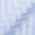 メンズパターンオーダーシャツ 涼感素材・吸水速乾 ホワイト×ブルーストライプ  【S71SKFF56】