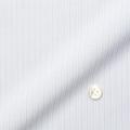 メンズパターンオーダーシャツ トリコットニット ホワイト×グレードビーストライプ 【S71SKFF87】