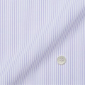 メンズパターンオーダーシャツ トリコットニット 白場ストライプ(パープル系) 【S71SKFFA2】