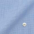 メンズパターンオーダーシャツ 形態安定 ブルーハケメ 【S71SKFT05】