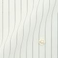 メンズパターンオーダーシャツ 形態安定 ブラックピンストライプ 【S71SKFT07】