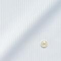 メンズパターンオーダーシャツ 形態安定 ライトブルードビーストライプ 【S71SKFT25】