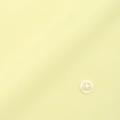 メンズパターンオーダーシャツ 純綿 80番双糸使用 イエロー無地ピンオックス 【S71SKFU62】