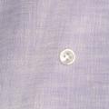 メンズパターンオーダーシャツ 麻100% 涼感素材 パープル無地 【S71SKFW11】