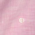 メンズパターンオーダーシャツ 麻100% 涼感素材 ピンク無地 【S71SKFW12】