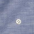 メンズパターンオーダーシャツ 麻混紡 涼感素材 ネイビー 【S71SKFW17】