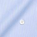 メンズパターンオーダーシャツ 100番手双糸 ブルーペンシルストライプ 【S71SKFY49】
