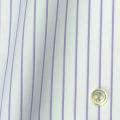 メンズパターンオーダーシャツ 100番手双糸 パープルストライプ 【S71SKFY52】