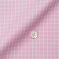 メンズパターンオーダーシャツ 100番手双糸 ピンクチェック 【S71SKFY69】