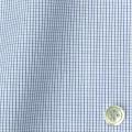 メンズパターンオーダーシャツ 純綿 ネイビーマイクロチェック 【S71SKFZ05】