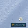 レディースパターンオーダーシャツ(ベーシック) MORARJEE ブルーヘリンボーン 【S72EXMB17】